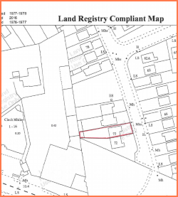 Land Registry Maps Boundary Maps and Cert of Identity | HomeCheck